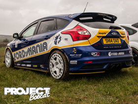 Ford Mania liveried Focus SH14OAO