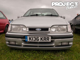 Ford Sierra with RS Option front bumper K136KRR