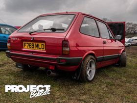 Mk2 Fiesta 1.1L with Zetec blacktop F769MLD