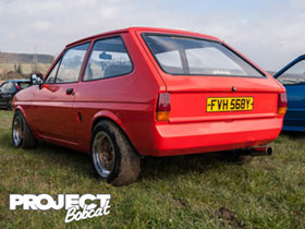 Debumpered Mk1 Ford Fiesta FVH568Y