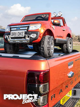 Mini Ford ranger wildtrack childrens toy