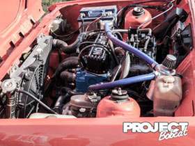 Burton power crossflow rocker cover