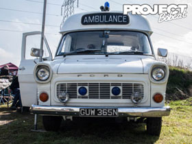 Ford transit ambulance GUW365N