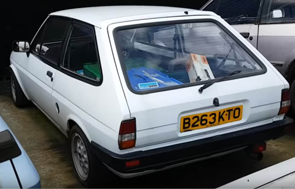 1985 Ford Fiesta Mk2 Popular Plus