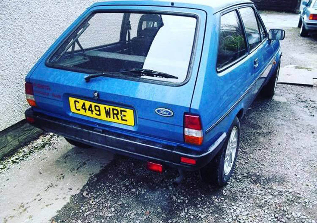 1986 Ford Fiesta Mk2 Popular Plus
