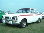 White Ford Escort Mexico RHE283M