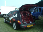 PT Cruiser Sony xplod audio demo car B9SSJ