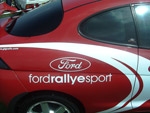 Ford Rallye sport stickered puma
