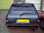 Fiesta XR2 with clio rear wiper