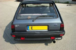 RS option rear spoiler couple with XR2 boot surround
