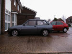 Fiesta XR2 side view