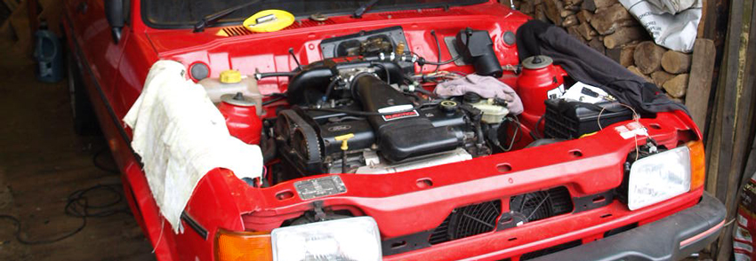 Mk2 Ford Fiesta Zetec Engine Conversion Project Bobcat