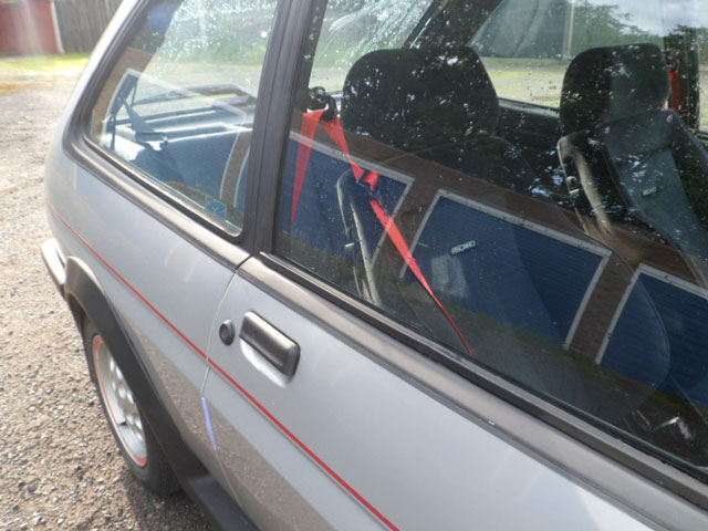 Xr2 with red Seatbelts