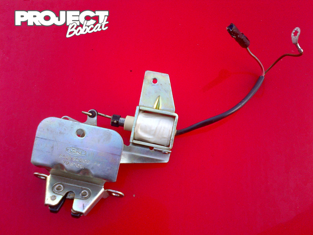 ford ka wiring diagram boot release