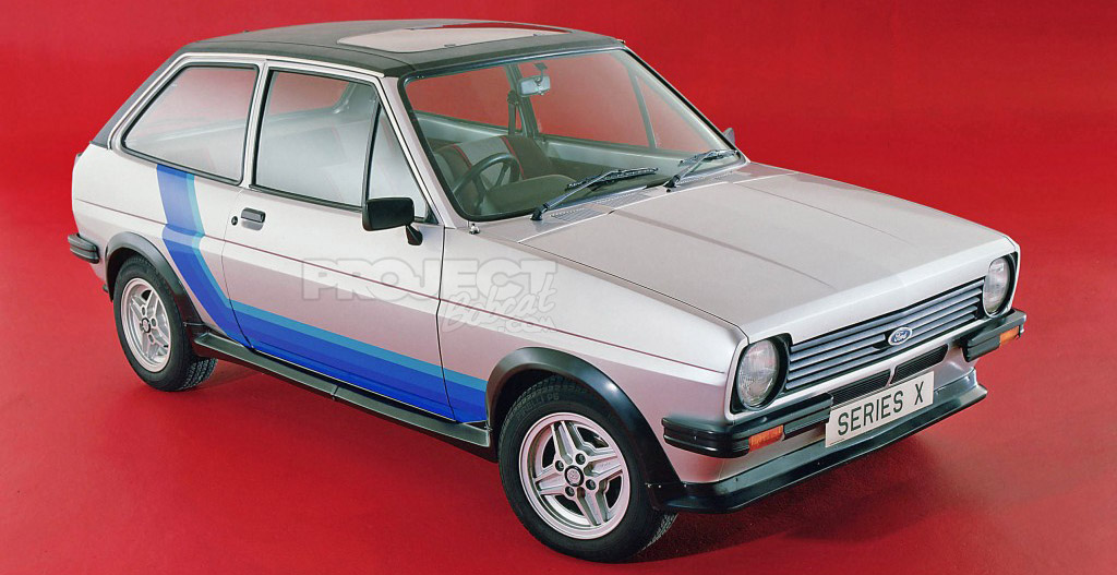 Series X Ford Fiesta Mark 1