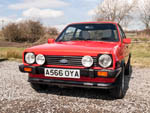 A566OYA Red Ford Fiesta XR2