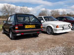Ford Fiesta XR2 and Series 1 Escort RS Turbo