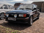 Fiesta XR2 at Leyburn Classic Ford Meet F452RMM