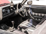 Ford capri chequered interior