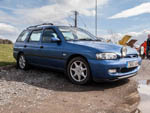 Mk6 Ford Escort estate in Amparo Blue T853UUM