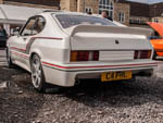 Rear view of Mk3 Capri with bodykit C4PR1