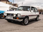 Diamond white Mk1 Fiesta XR2 APY505Y