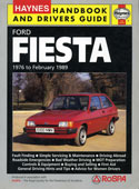 Haynes Fiesta Mk2 Handbook and Drivers Guide
