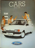 Ford Cars Brochure March 1985