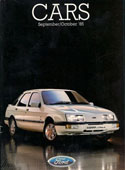 Ford Cars Brochure September October 1985