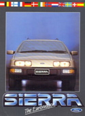 Ford Sierra Brochure 1985 New Zealand