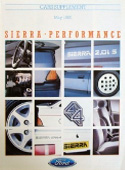 Sierra High Spec Model (inc XR4X4)  Brochure