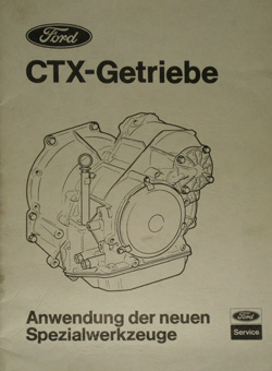 Ford CTX Special Tool