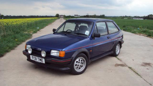 xr2 parked on a private road