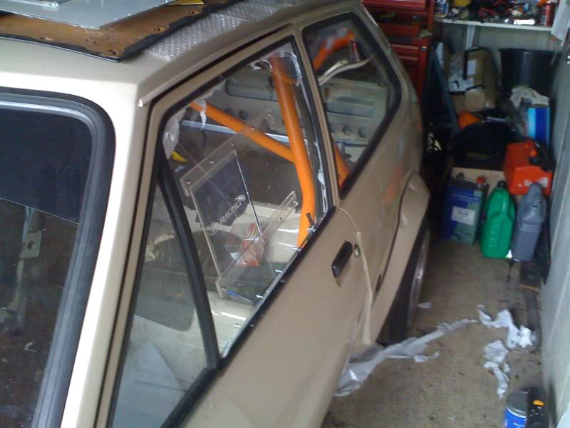 fiesta mk1 competition plastic windows