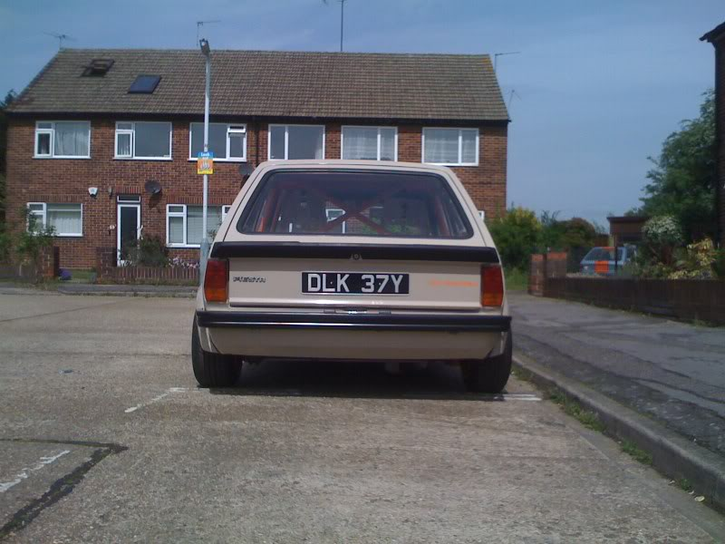 ford fiesta mark 1 rear view