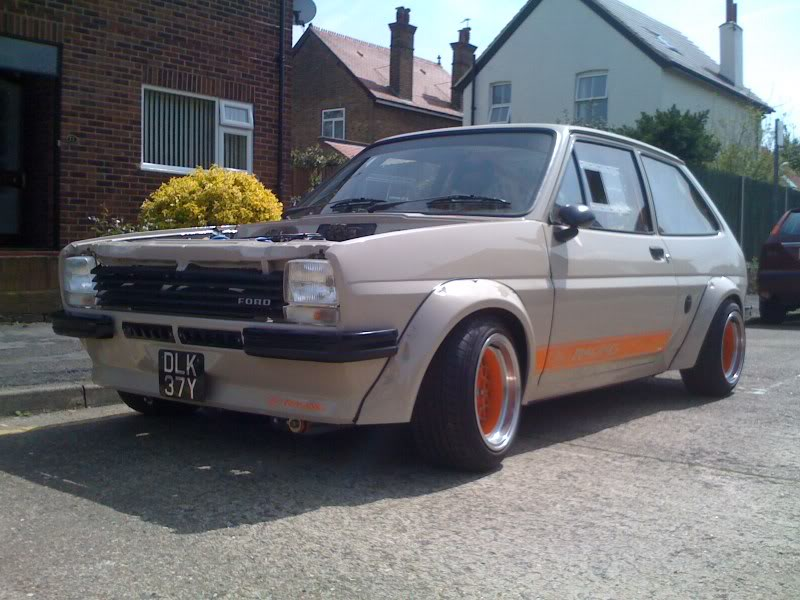 competition spec ford fiesta mk1