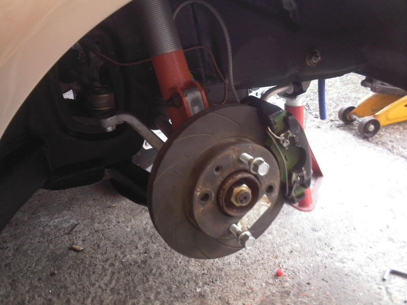 disk and caliper fitting to mk1 ford fiesta