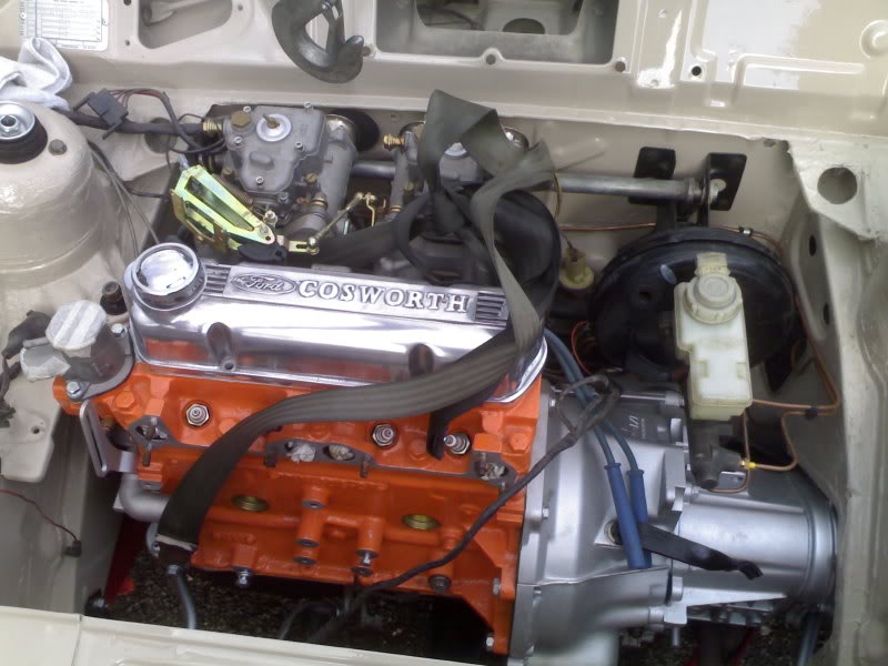 Cosworth rocker cover for crossflow engine