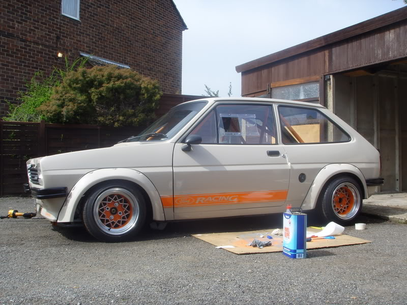 rally arched Mk1 fiesta