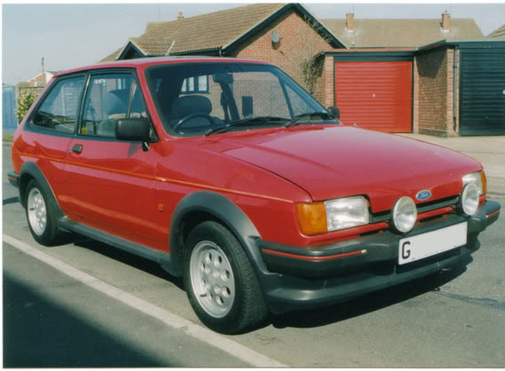 G registration Fiesta XR2