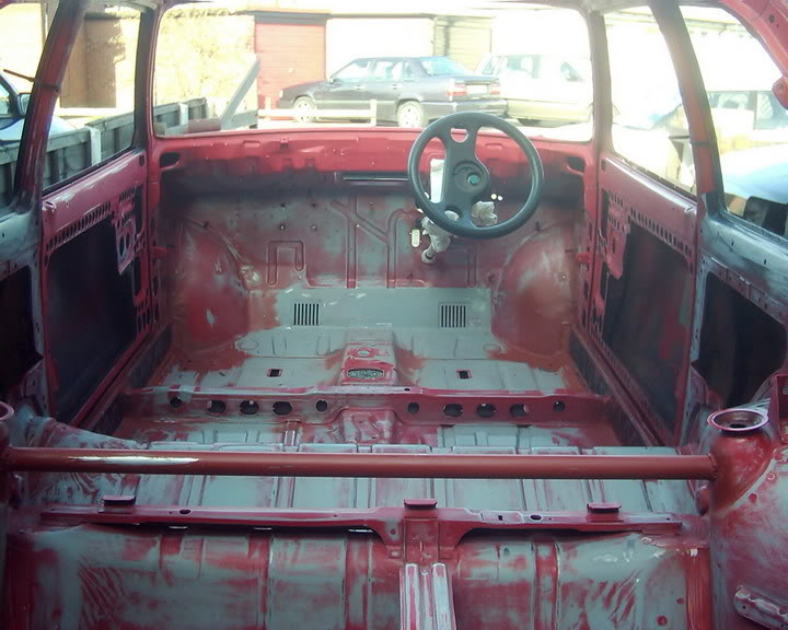 inside of bare mark 2 fiesta shell