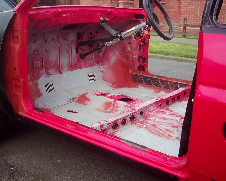fiesta xr2 shell inside