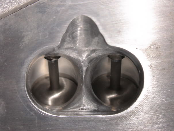 polished and ported CVH head