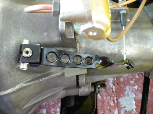 lightened Ford BC gearbox clutch lever