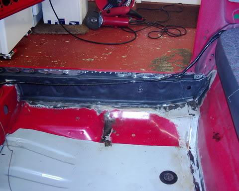new inner sill in fiesta xr2