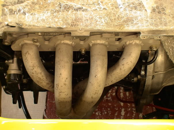 four branch exhaust manifold