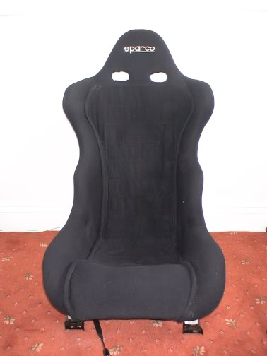 Sparco competition bucket seat