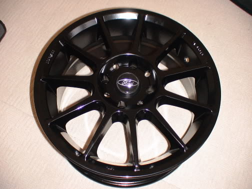 multispoke wheels with ford centre caps