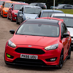 Fordmeet April 2019 at Squires Cafe near Sherburn-in-Elmet